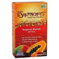 NOW Foods - Drink Sticks Sugar Free with Fiber Tropical Punch - 12 Sticks