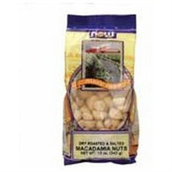 NOW Foods - Macadamia Nuts Dry Roasted & Salted - 9 oz.