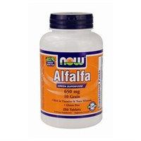 NOW Foods - Alfalfa Green Superfood 10 Grain 650 mg. - 250 Tablets