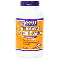NOW Foods - Nutritional Yeast Powder - 10 oz.