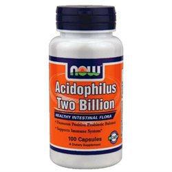 NOW Foods - Acidophilus 2 Billion - 100 Capsules