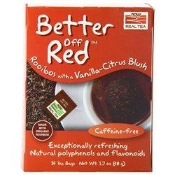 Now Foods, Better Off Red Roobios Vanilla Citrus Blush Tea 24 Tea Bags