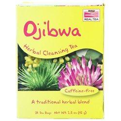 NOW Foods - Ojibwa Herbal Cleansing Tea - 24 Tea Bags