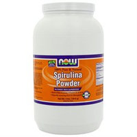 NOW Foods - Spirulina Powder - 100 Pure and Natural - 4 lbs.