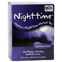 Now Foods, Nighttime Mellow Nighttime Herbal Tea 24 Tea Bags