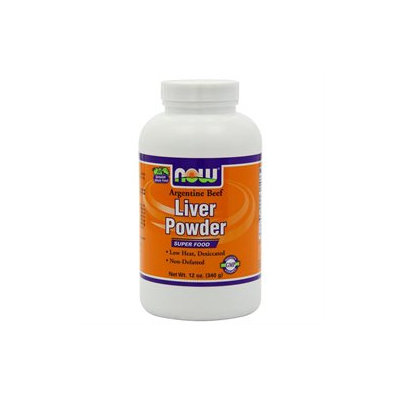 NOW Foods - Liver Powder - 12 oz.