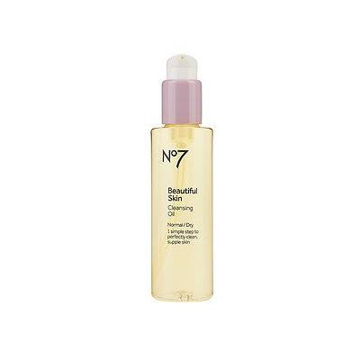 Boots No7 Beautiful Skin Cleansing Oil, Normal/Dry 5 fl oz