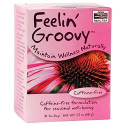 NOW Foods Real Tea Feelin' Groovy - 24 Tea Bags