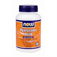 NOW Foods - Hyaluronic Acid Double Strength 100 mg. - 120 Vegetarian Capsules