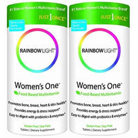 Rainbow Light Women's One Multivitamin/mineral 150 Tablets X 2