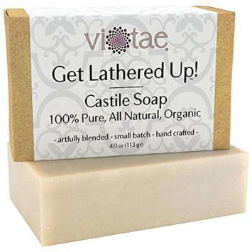 Vi-Tae Organic Castile Bar Soap, 4 Ounces