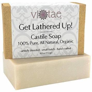 Vi-Tae Organic Castile Bar Soap, 4 Ounces