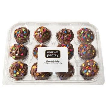 market pantry Market Pantry Chocolate Cupcakes 12 ct