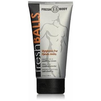 Fresh Body Fresh Balls Hygiene for the Male Intimate Area Antiperspirant 5oz