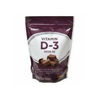 GNC Vitamin D-3 1000IU Soft Chews, Chocolate 60