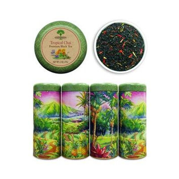 Premium Loose Tea Gift Tin Tropical Chai Black