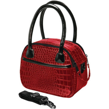 Fujifilm FujiFilm 600009105 Faux Croc Bowler Bags, Red
