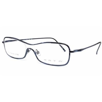 Kata Designer Reading Glasses 232 Kai in Navy ; Demo Lens