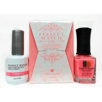 LECHAT Perfect Match Nail Polish, Sunkissed, 0.500 Ounce