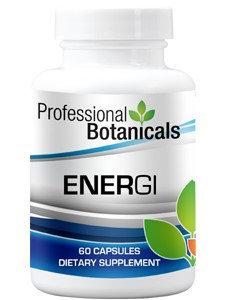 Professional Botanicals Energi 60 caps