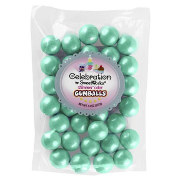 SweetWorks Sweetworks Gumballs Turq 14 OZ