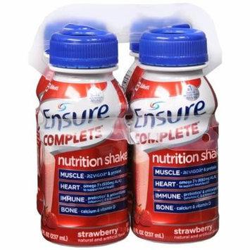 Ensure Ensure Complete Nutrition Shake, Strawberry 4 ea