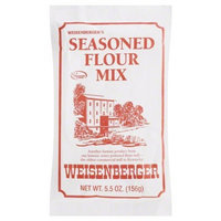 Weisenberger Seasoned Flour Mix, 5.5-Ounce (Pack of 12)