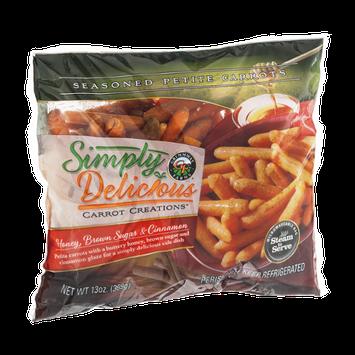 Simply Delicious Carrot Creations Honey Brown Sugar & Cinnamon