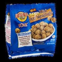 Earth's Best Baked Mini Beef Meatballs