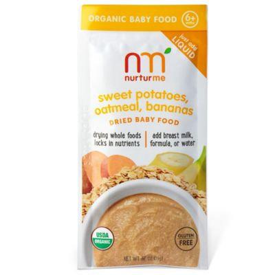 NurturMe Blends Sweet Potato Banana Oatmeal Pouch - .67 Ounce