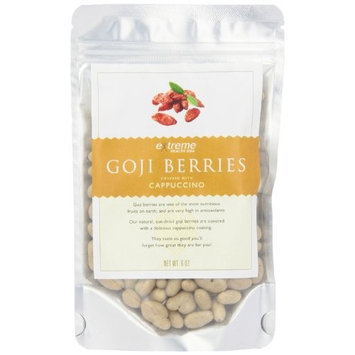 Extreme Health USA Extreme Health's Tibetan Goji Berries, Cappuccino, 6-Ounce Pouches (Pack of 2)