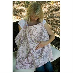 Hooter Hiders Nursing Cover - Marseille - Pocket
