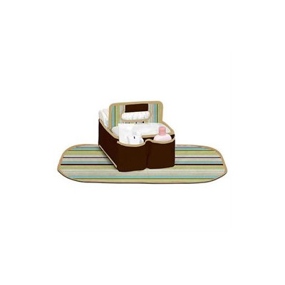 SaraBear Baskets Munchkin Diapering Organizer, Brown - 1 ct.