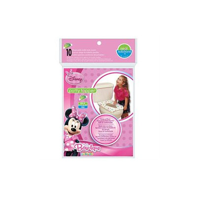 Hamco Neat SolutionsA 10-Count Minnie Mouse Bow-tique Potty Topper