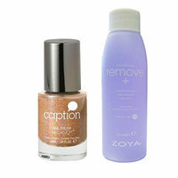 Bundle of Two Iems: Caption Nail Polish in Lookie! Lookie! .34 oz with Nail Polish Remover 2 oz