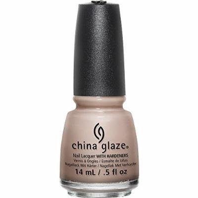 China Glaze Nail Polish Lacquer - 2015 Desert Escape - 82649 - What's She Dune (Tranquil Sandy Beige Crème), 0.5 Fluid Ounce