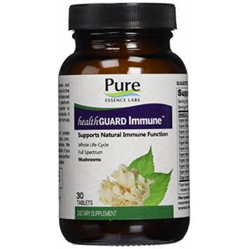 Pure Essence Labs HealthGuard Immune - Supports Natural Immune Function - 30 Tablets