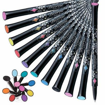 Sakura Decorese Nail Art,decorating,glitter, Plastics, Photography, Paper Cups,all Products-deco Pen (Pack of 10)