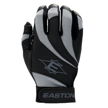 Cycle Products Co. Easton Reflex Batting Glove Adult Medium Black/Gray - CYCLE PRODUCTS CO.