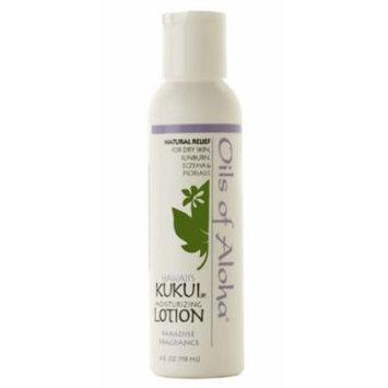 Hawaiian Kukui Nut Oil Of Aloha Lotion Paradise Fragrance 4 oz. Bottle