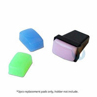 Winstonia 3-Color Replacement Jelly Gel Pad for Rectangular Stamper Scraper Set (3 pieces)