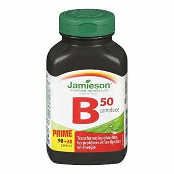 Jamieson B Complex 50 Bonus 120 Count