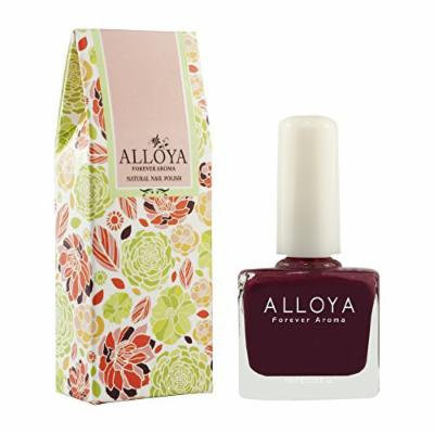 Alloya Natural Non Toxic Nail Polish, Water Based, 022 Bread & jam