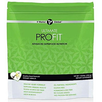 It Works Ultimate PROFIT Advanced Superfood nutrition Powder - Creamy Vanilla Flavor (1.55lbs/702g)