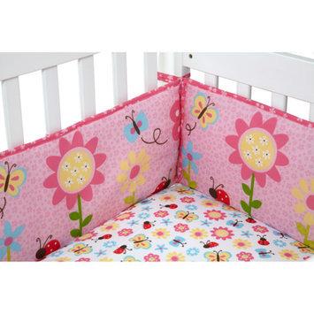 Little Bedding by NoJo Little Miss Ladybug Crib Bumper