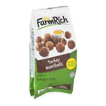 Farm Rich Meatballs Turkey