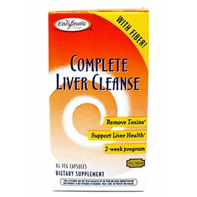 Complete Liver Cleanse with Fiber 84 VegiCapsules by Enzymatic Therapy