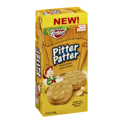 Keebler Pitter Patter Peanut Butter Creme Cookies