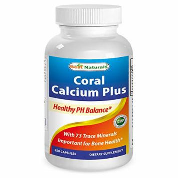 Best Naturals Coral Calcium Plus 1000 mg 250 Capsules