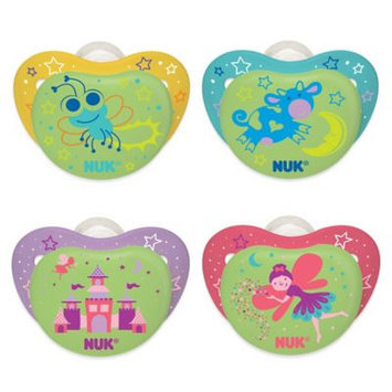 NUK Night Glow 2-Pack Orthodontic Pacifiers